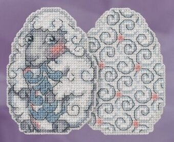Sheep Egg - Jim Shore - Cross Stitch Kit