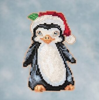 Penguin - Jim Shore Beaded Cross Stitch Kit