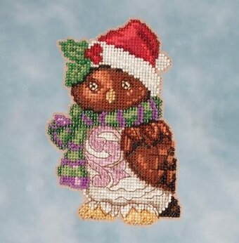 Owl - Jim Shore Beaded Cross Stitch Kit