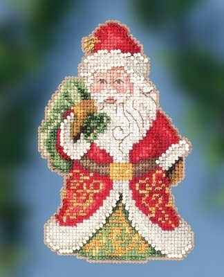 Gift Bearing Santa - Jim Shore - Cross Stitch Kit
