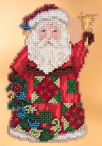 Glad Tidings Santa - Jim Shore - Cross Stitch Kit