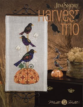 Harvest Trio (Jim Shore) - Cross Stitch Pattern