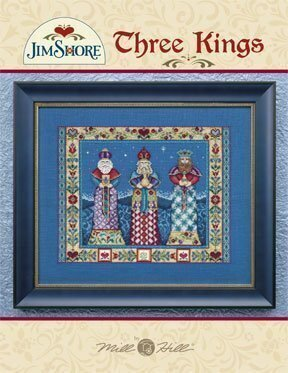 Three Kings (Jim Shore) - Cross Stitch Pattern