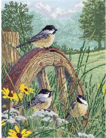 Meadow's Edge - Cross Stitch Kit