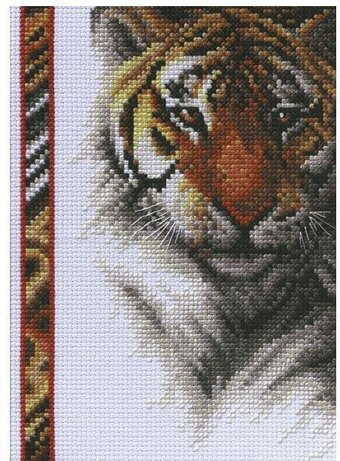 Tiger - Cross Stitch Kit