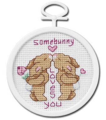 Somebunny Loves You - Beginner Cross Stitch Kit