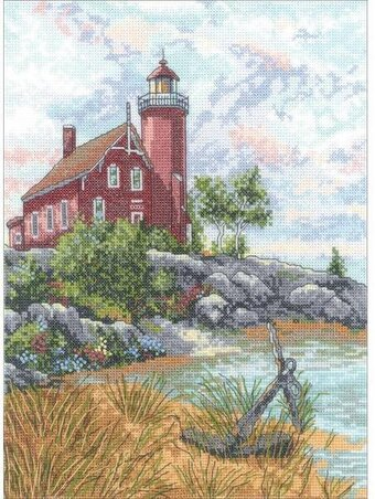 Eagle Harbor Lighthouse - Cross Stitch Kit