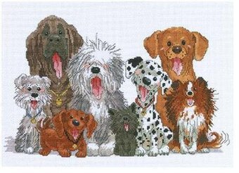 Dogs Of Duckport - Cross Stitch Kit