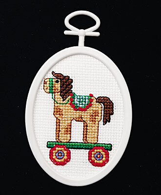 Christmas Toy Mini - Cross Stitch Kit