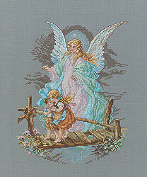 Guardian Angel - Cross Stitch Kit