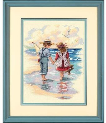 Holding Hands - Cross Stitch Kit