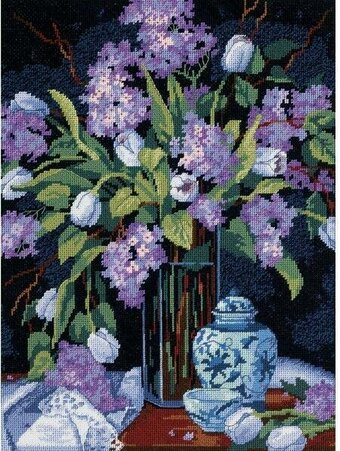 Tulips & Lilacs - Needlepoint Kit