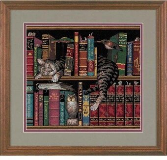 Frederick the Literate - Cross Stitch Kit
