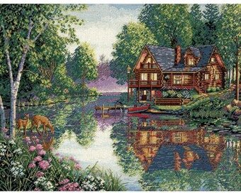 Cabin Fever - Gold Collection Cross Stitch Kit