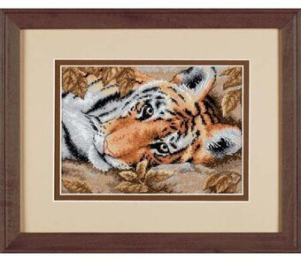 Beguiling Tiger - Cross Stitch Kit