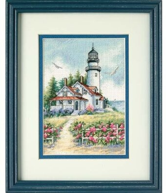 Scenic Lighthouse - Cross Stitch Kit