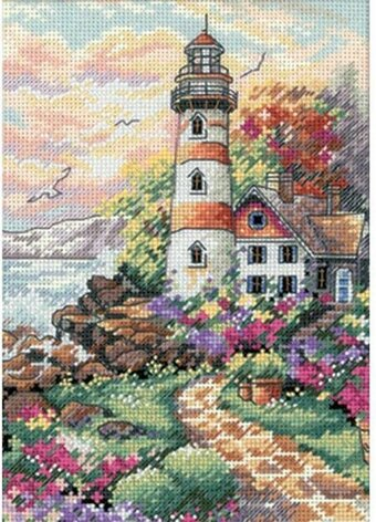 Beacon at Daybreak - Cross Stitch Kit