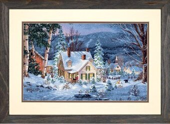Winter's Hush - Cross Stitch Kit