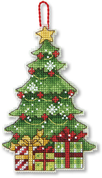 Tree Christmas Ornament - Cross Stitch Kit