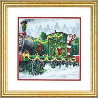 Santa Express - Christmas Cross Stitch Kit