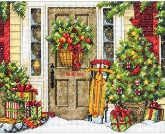 Home For The Holiday - Christmas Cross Stitch Kit