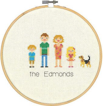 All In The Family - Cross Stitch Kit