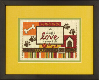 A Dog's Love - Cross Stitch Kit