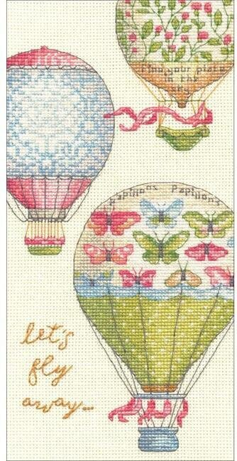 Let's Fly Away - Cross Stitch Kit