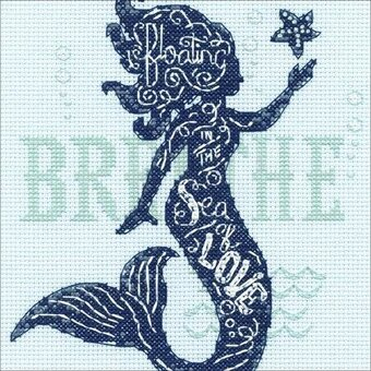 Mermaid Song - Cross Stitch Kit
