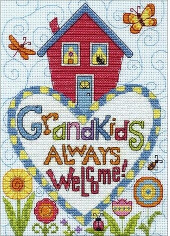 Grandkids - Cross Stitch Kit