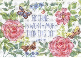 This Day Verse - Counted Cross Stitch Kit