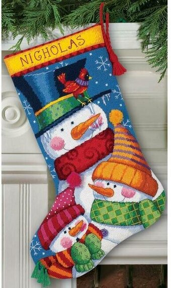 Freezin' Season - Christmas Needlepoint Kit