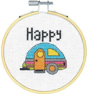 Happier Camper For Sale >> Dimensions Travel Memories - Cross Stitch Kit 6996 - 123Stitch.com