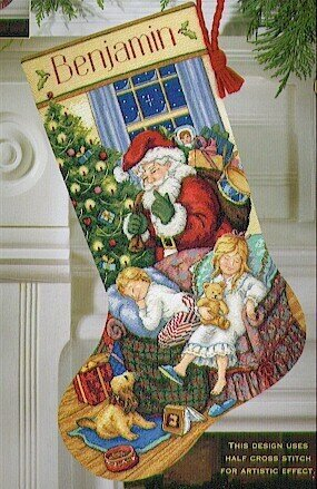 Sweet Dreams Stocking - Cross Stitch Kit