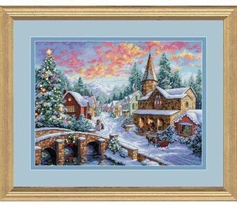Holiday Village - Cross Stitch Kit