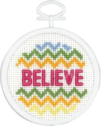 Believe Mini - Cross Stitch Kit
