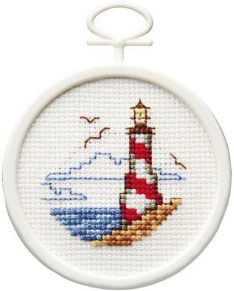 Lighthouse Mini - Cross Stitch Kit