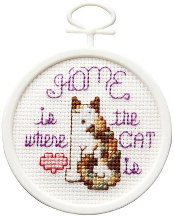 Where the Cat Is - Cross Stitch Kit