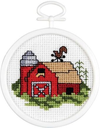 Country Barn Mini - Cross Stitch Kit