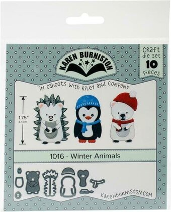 Winter Animals - Karen Burniston Craft Die