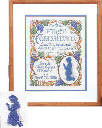 First Communion - Cross Stitch Pattern