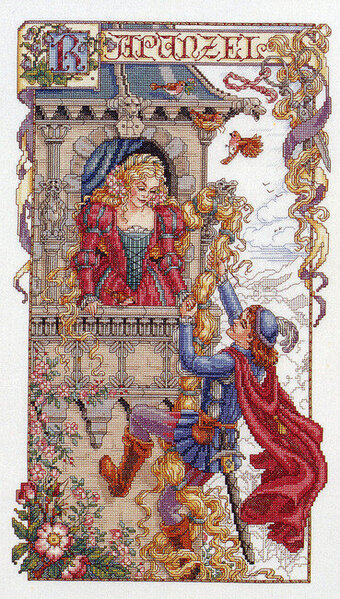 Rapunzel - Cross Stitch Pattern