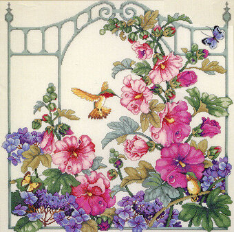 Morning Dew - Cross Stitch Pattern