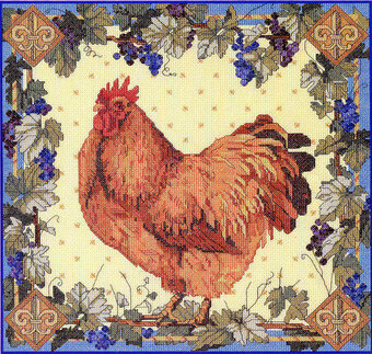 Hen - Cross Stitch Pattern