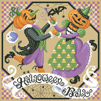 Halloween Ball - Cross Stitch Pattern