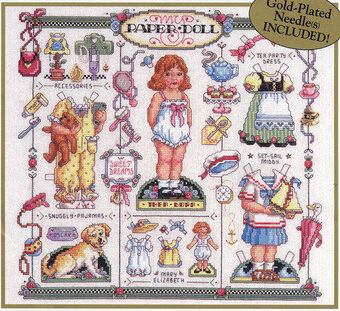 My Paper Doll - Cross Stitch Pattern