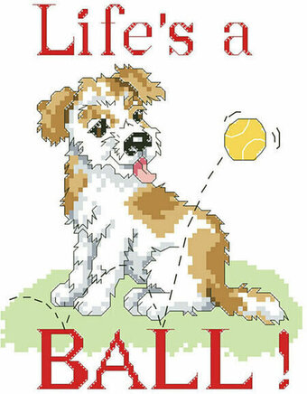 Life's A Ball - Cross Stitch Pattern