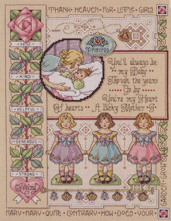 For My Daughter - Cross Stitch Pattern