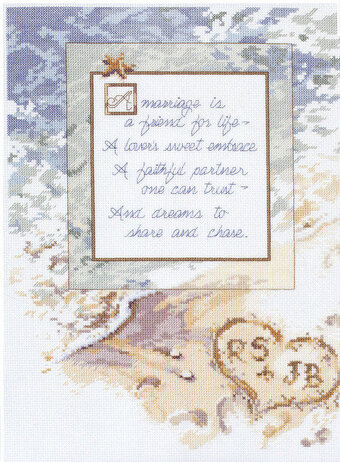A Marriage Is - Cross Stitch Pattern