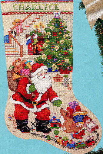 Best of Christmas Stocking, The - Cross Stitch Pattern